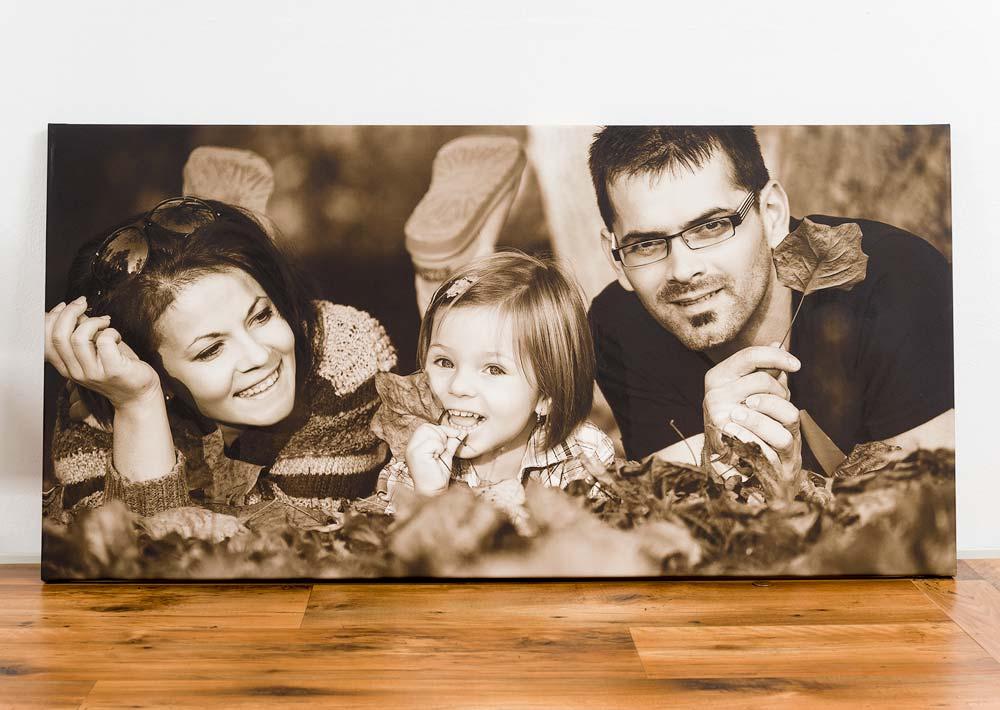 Foto na plátno - Rodinný portrét
