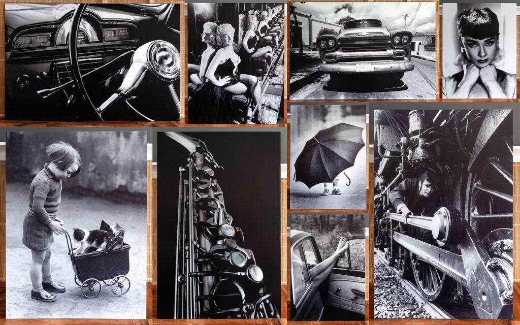Čierno-biela úprava fotiek ako z analógu