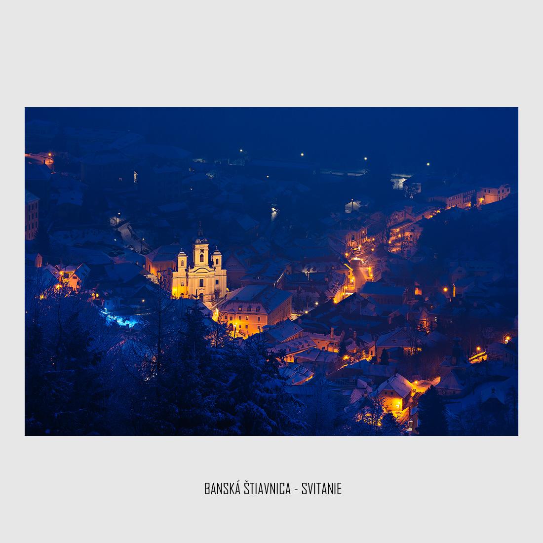 Banská Štiavnica-Svitanie-foto
